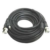 Коаксиальный кабель для видеонаблюдения RG59+DC, BNC/RCA, длина 10 м