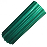 Шифер Волнопласт ПВХ 2,5*20 м. зеленый