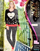 Женский комплект кофта+лосины Турция. MODY 9610. Размер 44-46.