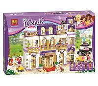 Конструктор Bela серия Friends / Подружки 10547 Гранд отель Хартлейк Сити (аналог Lego Friends 41101)