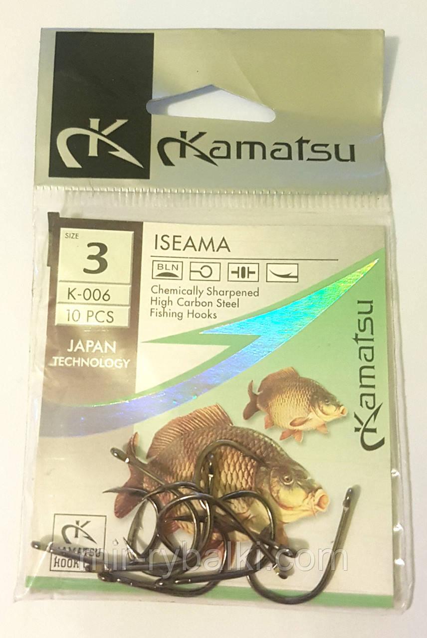 Крючки Kamatsu ISEAMA 3