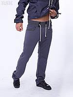 Мужские штаны Спортивные Мино темно серые с карманами , спортивные штаны