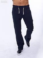 Мужские штаны Спортивные Мино синие с карманами , спортивные штаны