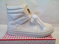 Ботинки дедетские VICES ростовка 31-36 белые - в наличии 6 пар