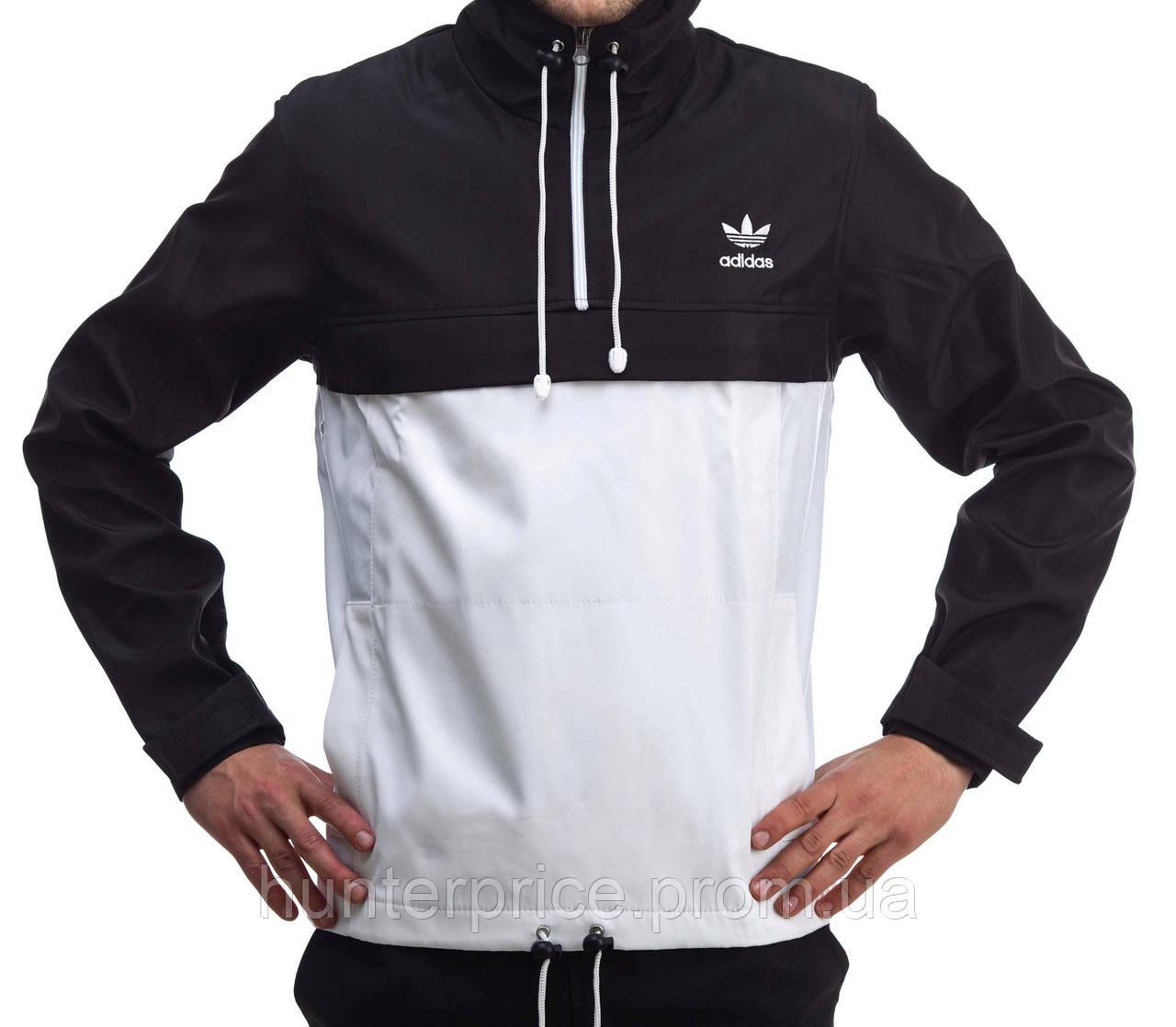 40295f48 Анорак Adidas, черно-белый - Интернет - магазин