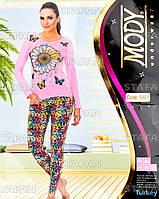 Женский комплект кофта+лосины Турция. MODY 9461. Размер 44-46.