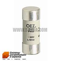 Предохранитель PV22 100A gG (OEZ)