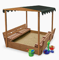 Детская песочница деревянная sb-4