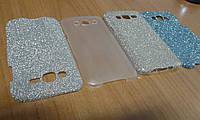 Накладка Utty Blink case Samsung J3 J320 серебро/золото/синий