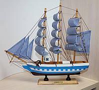 """Кораблик сувенирный деревянный """"Confection"""", 30 см"""