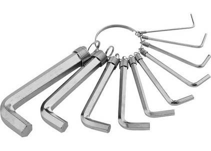 Ключи имбусовые, шестигранные