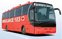 Мобильный медицинский комплекс (ММК) на базе автобуса