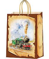 Подарочные пакеты для мужчин размер 37 х 24 см  (12 шт./уп.)