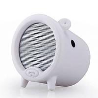 Колонка Momax Piggy bluetooth speaker, white (ST1W)