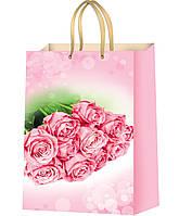 Подарочные пакеты для девушек размер 37 х 24 см  (12 шт./уп.)