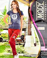 Женский комплект футболка+лосины Турция. MODY 6953. Размер 44-46.