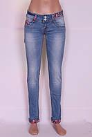 Зауженные джинсы женские Cudi (код 8477) , фото 1