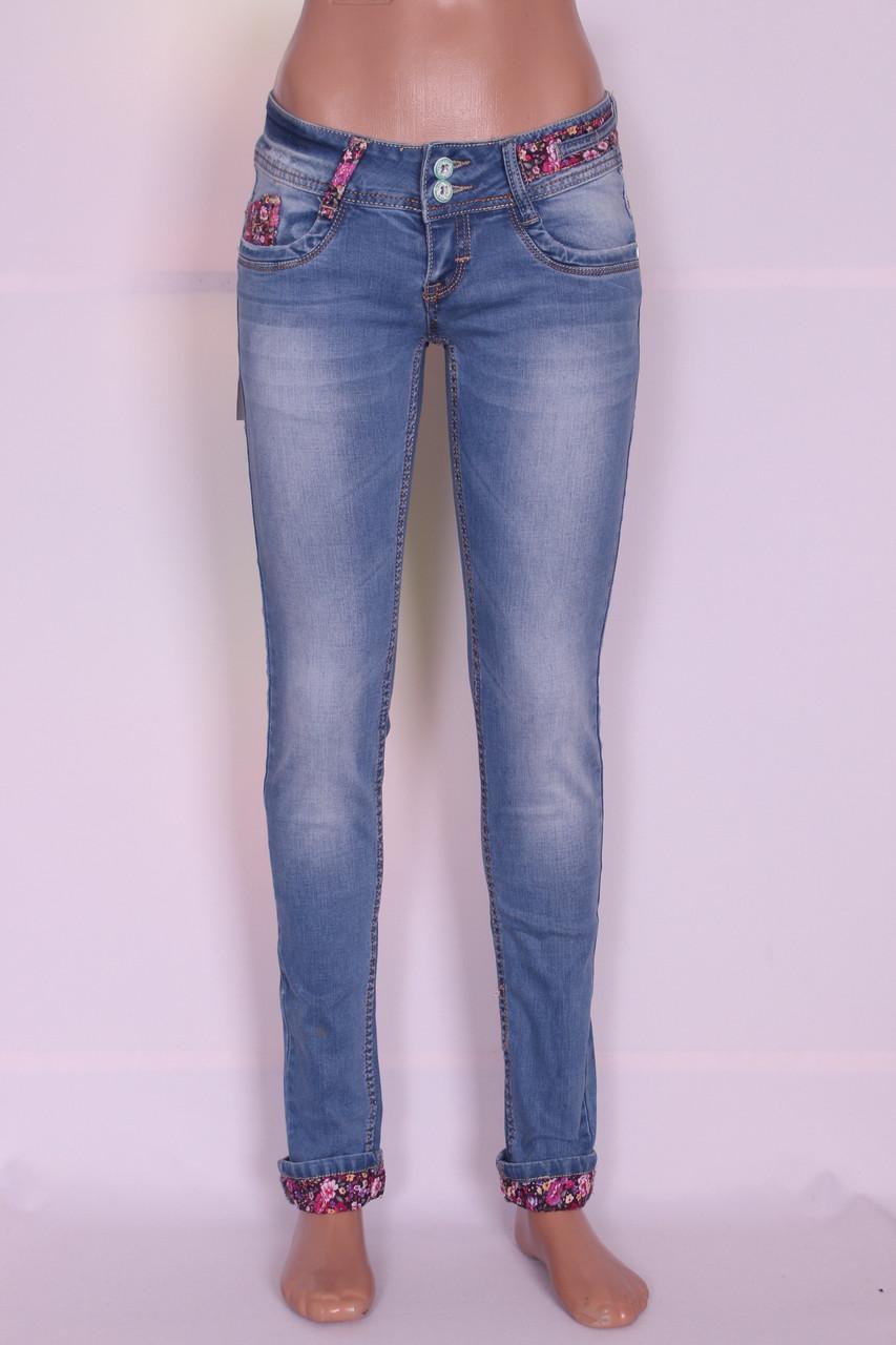 Зауженные джинсы женские Cudi (код 8477)