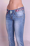 Зауженные джинсы женские Cudi (код 8477) , фото 7