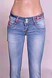 Зауженные джинсы женские Cudi (код 8477) , фото 8