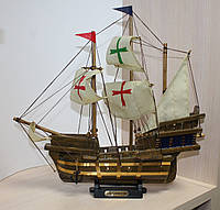 """Сувенирный парусный кораблик """"Santa Maria"""", 30 см"""