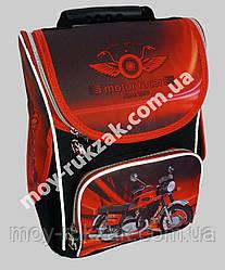"""Ранец ортопедический каркасный """"Motor Racer"""" Leader Smail, 987833"""