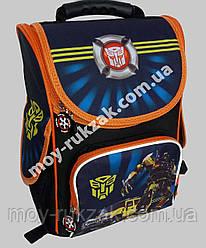 """Ранец ортопедический каркасный """"Transformers"""" Leader Smail, 987839"""