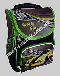 "Ранец ортопедический каркасный ""Sports Cars"" Leader Smail, 987840"