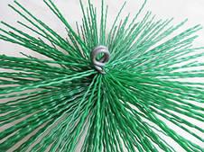 Ерш для чистки дымохода пластик ф160, фото 3