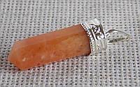 Подвеска из солнечного камня № 1. Кулон с авантюрином