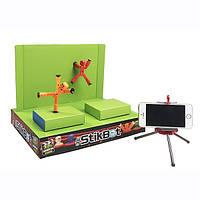 Игровой набор для анимационных роликов STIKBOT S1 СТУДИЯ Z-SCREEN 2 стикбота, штатив, сцена TST617