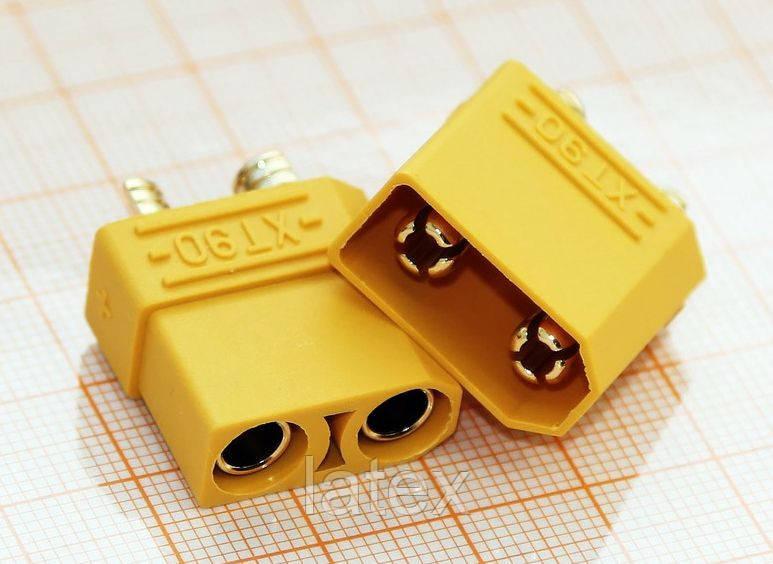 Разъем XT-90;(90 ампер)  для электровелосипедов - Matrix.DC в Киевской области