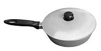 Сковорода с ровным дном ПРОЛИС СК-220 (220х107 мм), бакелитовая ручка