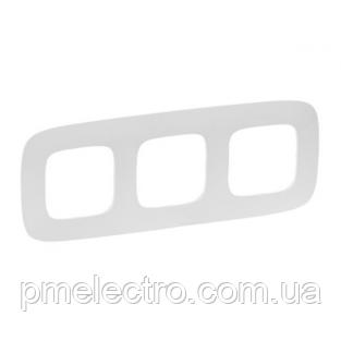 VLN-A Рамка 3 пости Білий