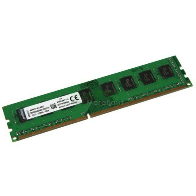 Память 4Gb DDR2, 800 MHz (PC6400), Kingston, CL6 (KVR800D2N6/4G), только под AMD