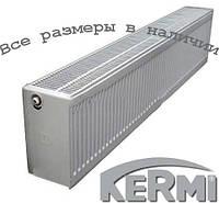Стальной радиатор KERMI FKO т33 300x400 боковое подключение