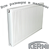 Стальной радиатор KERMI т22 600x400 боковое подключение