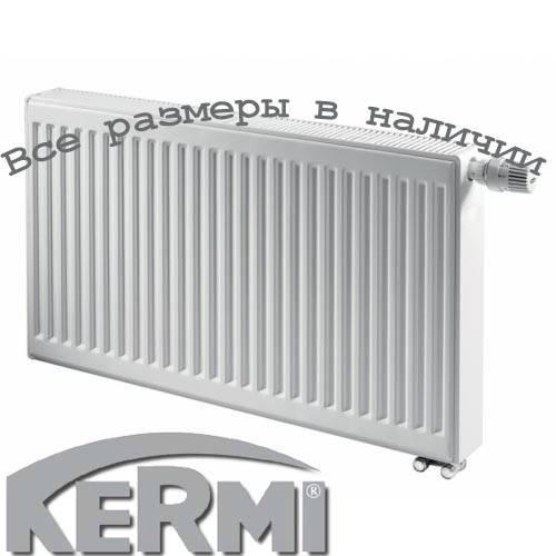 Стальной радиатор KERMI т33 600x400 нижнее подключение