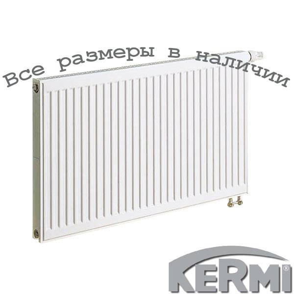 Стальной радиатор KERMI FTV т11 600x400 нижнее подключение