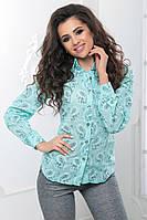 Рубашка огурцы с длинным рукавом на пуговицах. Материал: коттон лён Размеры: 42, 44, 46, 48 Цвета: сиреневый, джинсовый, абрикосовый, ментоловый