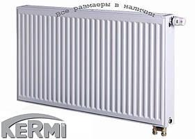 Стальной радиатор KERMI FTV т22 500x1300 нижнее подключение