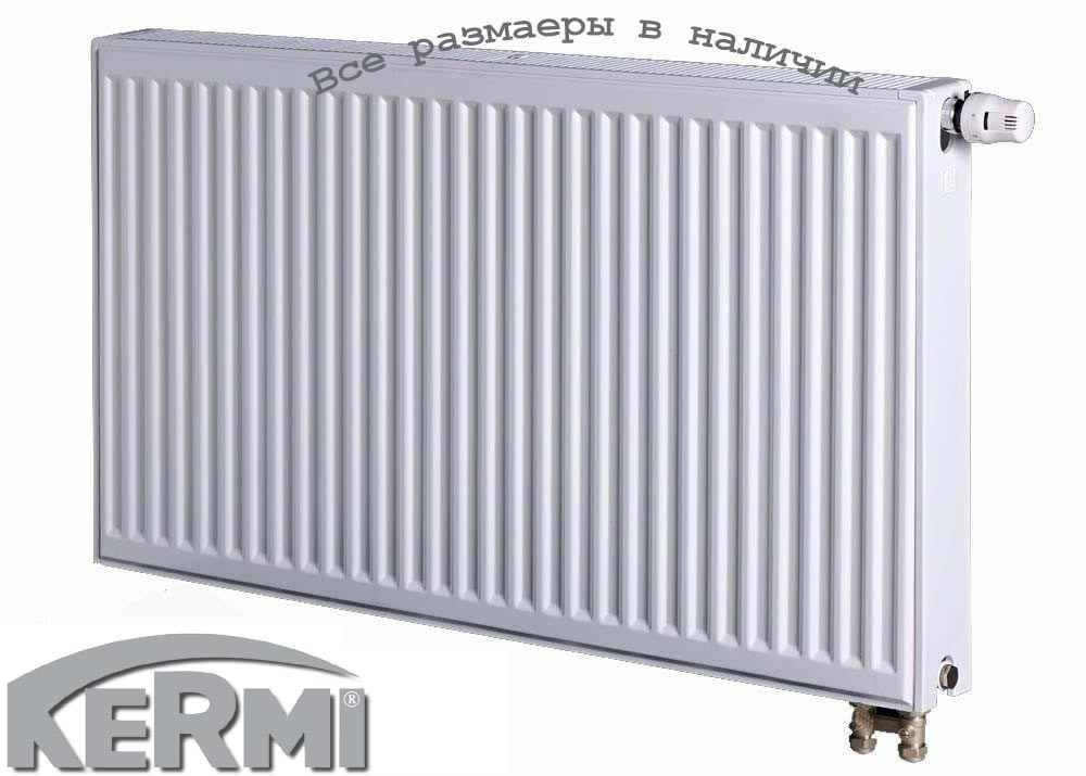 Сталевий радіатор KERMI FTV т22 600x1200 нижнє підключення