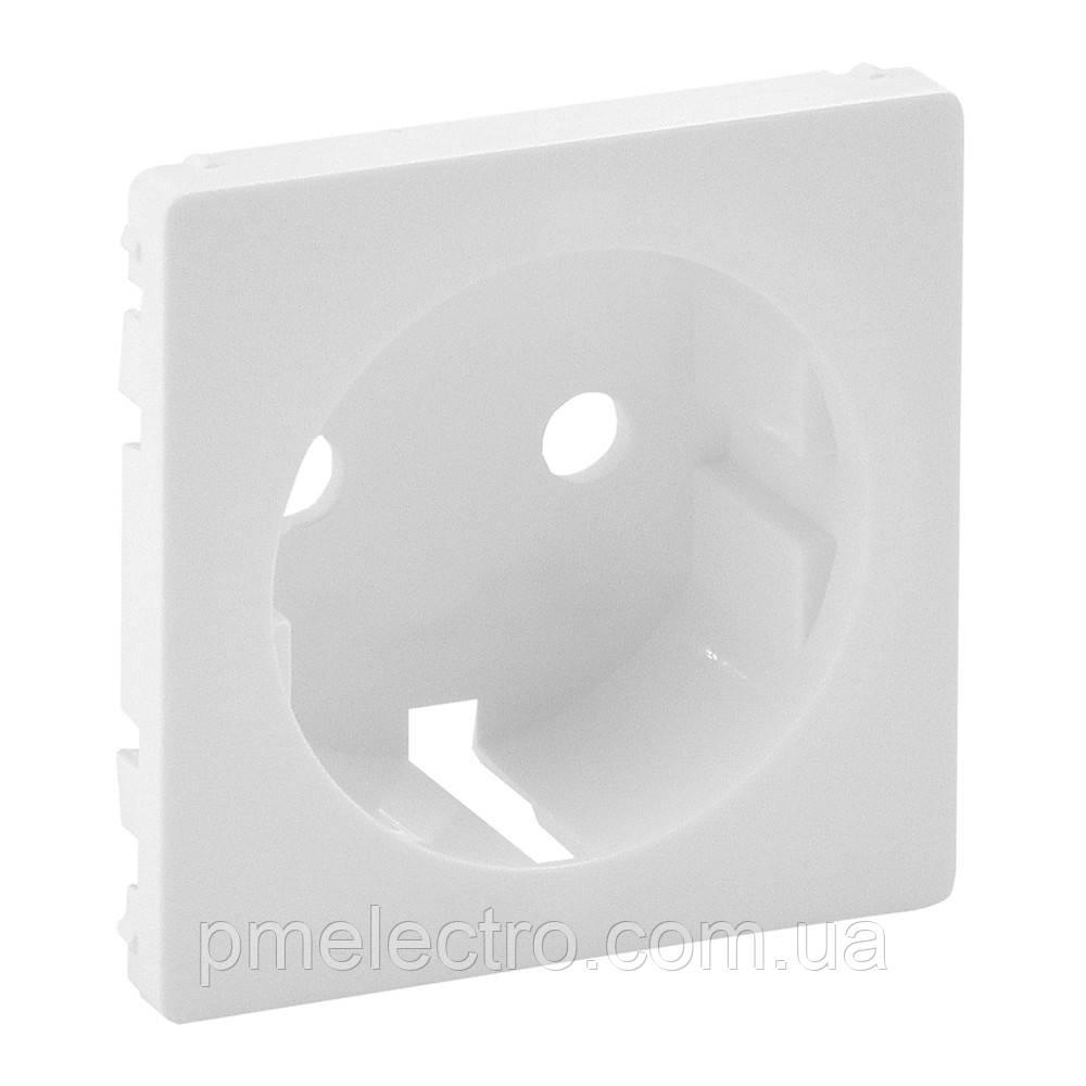 VLN-L Накладка розетки 2к+з білий