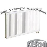 Стальной радиатор KERMI FTV т11 900x1400 нижнее подключение