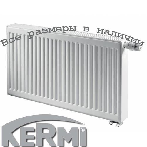 Стальной радиатор KERMI FTV т33 900x1400 нижнее подключение