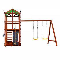 Деревянная детская игровая площадка 006, фото 2