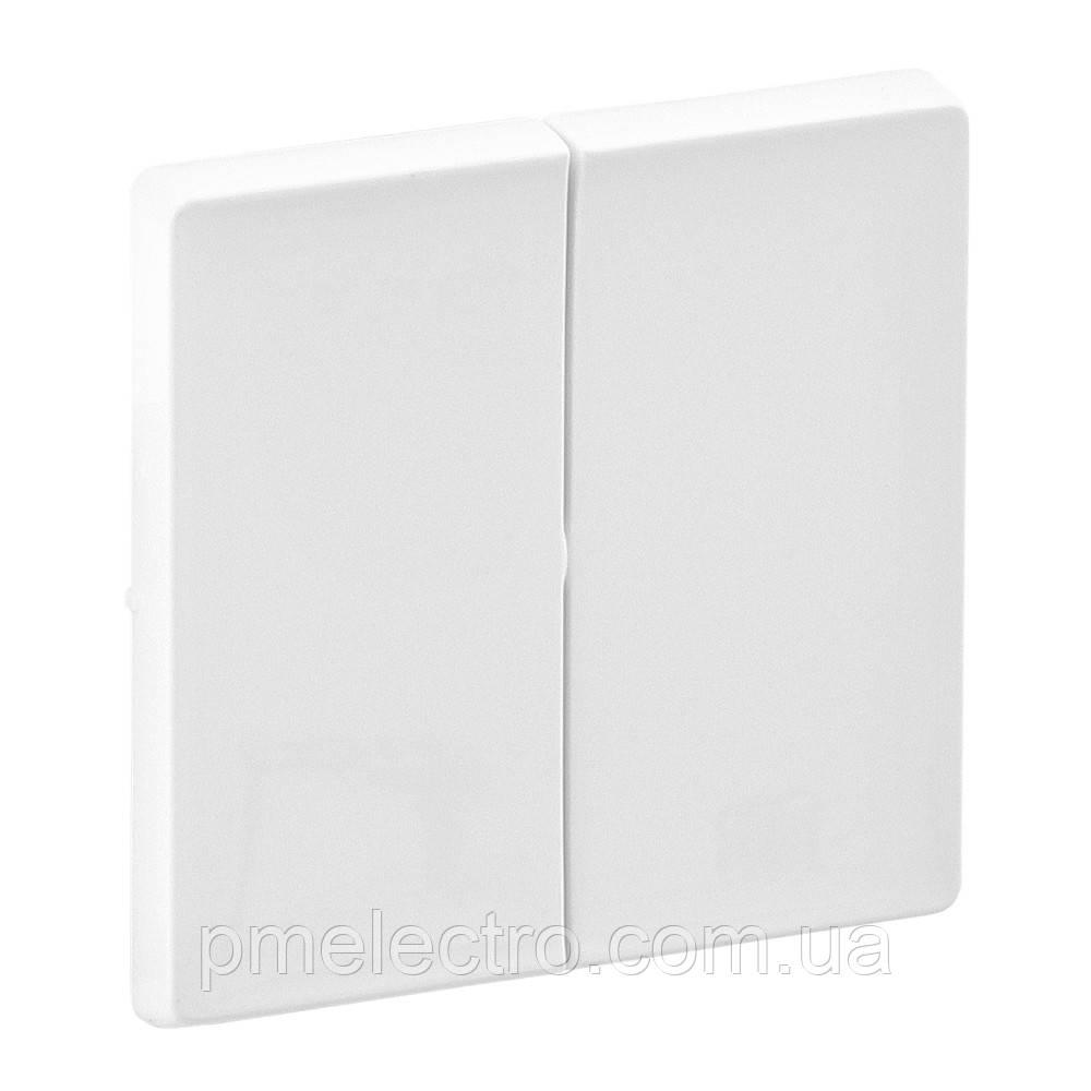 VLN-L Клавіша вимикача 2-кл білий