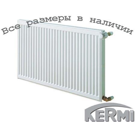 Стальной радиатор KERMI FKO т11 900x1300 боковое подключение