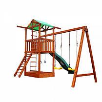 Детский игровой комплекс из дерева 002, фото 2