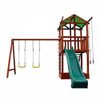 Детский игровой комплекс из дерева 002